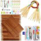 Double Pointed Circular Knitting Needles Weaving Tool For Sweater And Bag Making