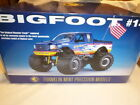 A Franklin mint Big foot monster truck with flag boxed