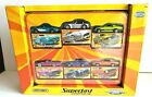 Matchbox SUPERFAST Collector tin six exclusive 2005 decos set Limited Edition