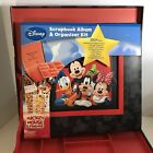 Mickey Mouse And Friends Scrapbook Album And Organizer Kit Kids Memory Projects