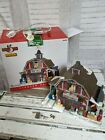 Lemax country Barn gift shop Xmas village house