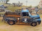 118 Scale DiecastCustom Weathered Rusted Black MOBIlFord F 100 Pickup Truck