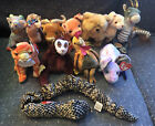 Ty Beanie Babies Zodiac Complete Set Of 12 Horse Ox Rat Dragon Snake Tiger 2000