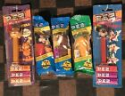 PEZ Candy Dispensers Lot Of 5: 2 Garfield's, 2 Mickey Mouse & 1 Tasmanian Devil