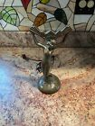 Art Nouveau Fan Lamp Base for Stained Glass