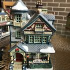 Lemax 2004 Hobart House Plymouth Corners Retired Village Lighted Building