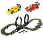 Electric Race Car Track Set Slot Accessories Lot New Mustang Kids Speed Racing