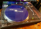 Technics SL 1210 MK2 Turntable black with dust cover no rubber turntable mat