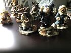 BOYDS BEARS FIGURINES WINTER/HOLIDAY LOT OF 7