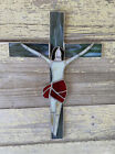Christ Handmade Stained Glass Sun Catcher 12X 8 Inches