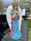 Nativity 30 Christmas Angel Lighted Blow Mold