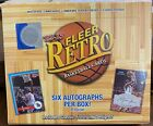 2012-13 Upper Deck Fleer Retro Basketball Hobby Box - 6 Autos -Jordan? LeBron?