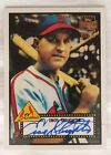 Enos Slaughter - 2001 Topps Archives Certified Autograph