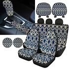Vintage Car Knobhandbrake Covers Car Seat Covers With Coaster Interior 10pc Set