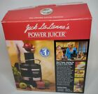 NEW Jack LaLannes Power Juicer The Ultimate Juicing Machine NOS Open Box