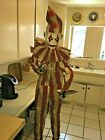 SILENT and DEADLY ANIMATED CLOWN HALLOWEEN PROP AS IS missing tube in neck