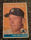 Mickey Mantle Topps Cards - 1952 to 1969 58