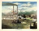 The Cotton Blossom Steam Boat by Brad Thompson Signed