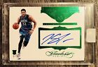 2015-16 Karl Anthony Towns Flawless Rookie Autographs Emerald 5 RC AUTO SEALED