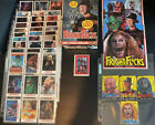 1988 Topps Fright Flicks Complete Cards Stickers Box & Wraps Set FREDDY!