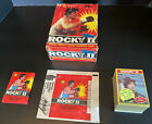 1979 Topps Rocky II (2) Complete Cards Stickers Box Pack & Wrap Rare