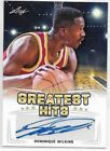 2016 Leaf Greatest Hits Basketball Cards 7