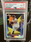 MIKE MUSSINA 1996 TOPPS CHROME REFRACTOR #88 PSA 8 RARE POP 2 ONLY 5 HIGHER!