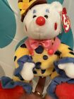Rare Retired Ty Juggles the Clown Beanie Baby 2004