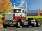 1 64 DCP RED WHITE MACK SUPERLINER DAY CAB