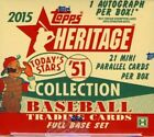 2015 TOPPS HERITAGE 51 COLLECTION HOBBY BOX