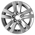 Chrome Plated 5 Double Spoke 17X8 Factory wheel 2007 13 BMW 3 Series Convertible