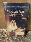 Ye Shall Have My Words Vintage VHS Factory Sealed NIP