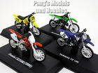 Dirt Bike Motocross Collection of 4 different 1 32 Scale Diecast Metal Models