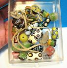 25 OLD Glass African Trade Beads LOT MIXED