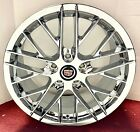 SET OF 4 Cadillac XLR ONLY PERFECT FIT Chrome Plated 18 x 85 Wheels