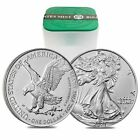 Roll of 20 2021 1 oz Silver American Eagle 1 Coin BU Type 2 Lot Tube of 20