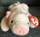 Ty Original Beanie Baby Squealer The Pig New With Tags Retired 1993