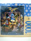 Jigsaw Puzzle Holy Night Christmas Nativity 1000 pc 30 x 24 by Masterpeices