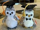 ty Wiser and Smarter graduation owl Beanie Babies retired rare