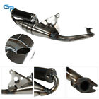 50CC Exhaust Muffler Pipe System Scooter Moped Racing For Breeze Jog