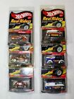 Hot Wheels RLC Real Riders Lot of 6 Dairy Delivery Chevy Panel Volkswagen More