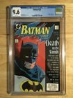 Batman # 427 CGC 9.6 (NM+) WHITE PAGES - DEATH IN THE FAMILY PT 2 1988 DC