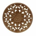 Rubber Wood Carved Onlay Applique Unpainted Furniture For Vintage Home Decor