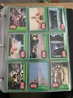 1977 Vintage Topps Star Wars Cards Complete Green Series 4 Set with Stickers