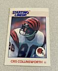 1988 Kenner Starting Lineup Card Chris Collingsworth Bengals
