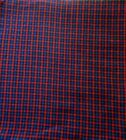 Rug Hooking Wool 1 Piece Mill Dyed 100 Wool Red Blue Black Plaid