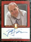 Iron Man Autographs Trading Card Guide 24