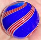 Hot House Glass Dichroic banded swirl marble 171 43mm 659
