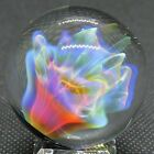 Anthony Weber 144 Glass Marble Pierian Flower BOLD Fume Neon Blue Green Pink