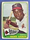 Vintage Topps Hank Aaron Baseball Cards Showcase Gallery and Checklist 68